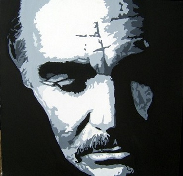 Sean Connery Portrait - SOLD