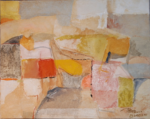 "Paolo Buggiani ""Composition of the south wall"" - 40x50"